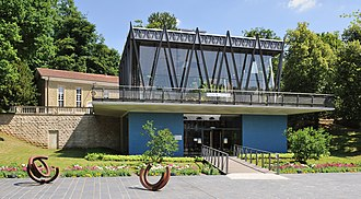 Mondorf-les-Bains - The Kind pavilion in the park