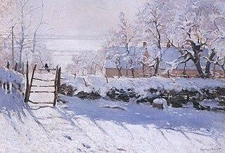 Monet - The Magpie