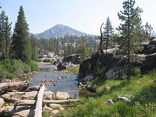 Mono Hot Springs, California Unincorporated community in California, United States