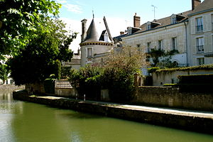 Montargis - The Briare Canal in Montargis