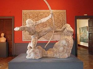 Hercules the Archer - Hercules the Archer, plaster, musée Ingres, Montauban