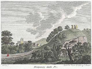 Montgomery Castle. Pl.I