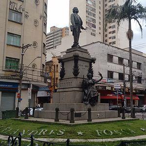 Antônio Carlos Gomes - Image: Monumento túmulo a Carlos Gomes (3)