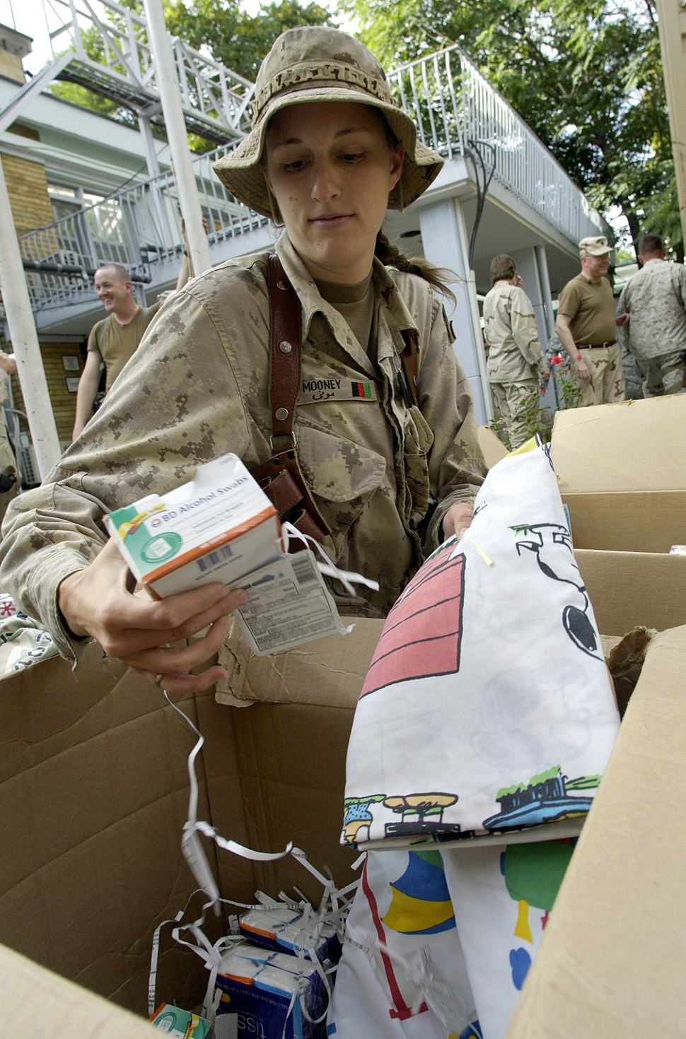Mooney Aid to Afghanistan
