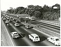 Morning traffic on northern motorway Auckland (33402411032).jpg