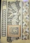 Mosaico di anubi, cornice con amorini, da via fratelli bandiera, fine II-inizio III sec.JPG