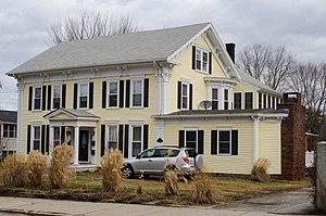 Moses Taft House (Uxbridge, Massachusetts) - Image: Moses Taft House Uxbridge MA