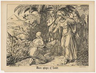 Moses reddes af Faraos datter