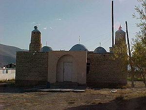 Tolbo - The mosque in the administrative center of the Tolbo sum