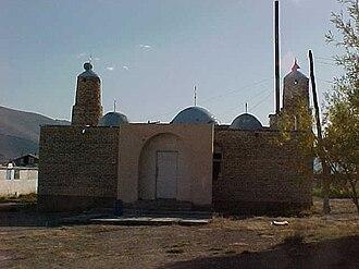 Islam in Mongolia - Mosque in Tolbo village in Bayan-Ölgii aimag