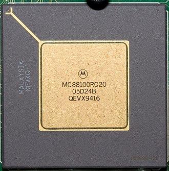 Motorola 88000 - Motorola 88100 RISC CPU