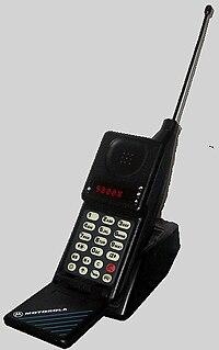 Motorola MicroTAC Cellular phone by Motorola