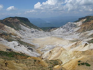 Mount Adatara - Numanotaira Crater