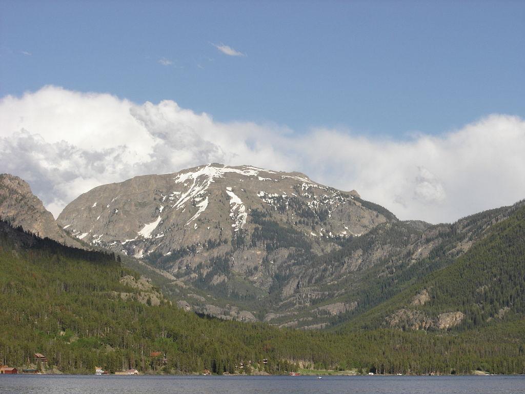 Mount Craig Summer Grand Lake Colorado