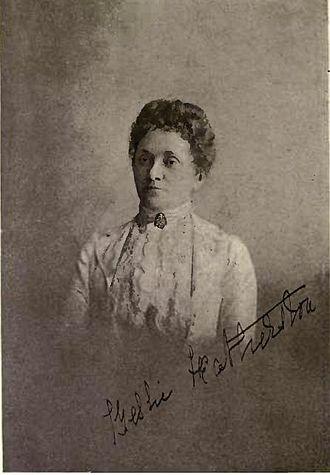J. P. Featherston - Mrs Bessie Featherstone by William James Topley