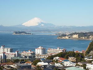 Sagami Bay - Viewed from Miura Peninsula.