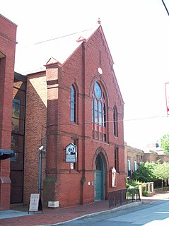 Banneker-Douglass Museum historic church building and museum in Annapolis, Maryland