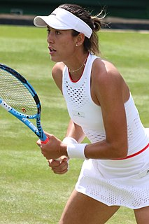 Garbiñe Muguruza Spanish-Venezuelan tennis player