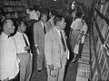 Muhammad Yamin looking at agrarian books, Tambahan dan Pembetulan Pekan Buku Indonesia 1954, p77.jpg