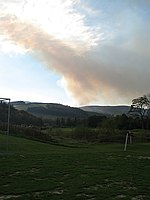 File:Muirburn from Tweeddale - geograph.org.uk - 589380.jpg