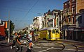 Muni 1063 at Castro and 17th (1), August 1998.jpg