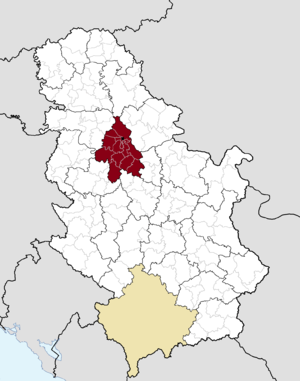 Savski Venac - Image: Municipalities of Serbia Belgrade