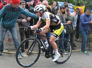 Fien Delbaere Belgian cyclist
