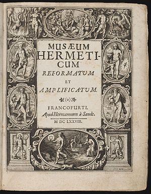 Musaeum Hermeticum - Image: Musaeum hermeticum title page