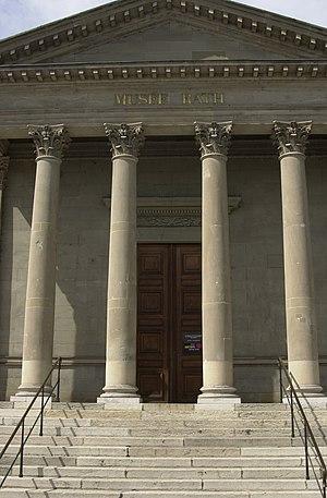 Musée Rath - Entrance to the Musée Rath.