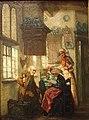 Museum Hindeloopen - De Brief geschilderd door Pieter W. Sebes (1827-1906) (cropped).jpg