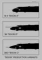 Myasishchev Bison variants nose silhouettes.png