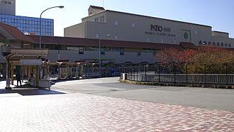 Myōdani Station - Station entrance