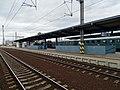 Nádraží Praha-Libeň, vlak s parní lokomotivou.jpg