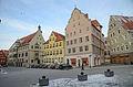 Nördlingen, Marktplatz 1, 3, 4, 6-001.jpg
