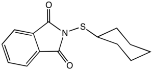Sulfenic acid - Cyclohexylthiophthalimide is an example of a sulfenamide, yet another derivative of sulfenic acid.