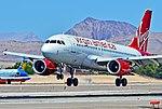 "N525VA Virgin America 2007 Airbus A319-112 - cn 3324 ""virgin & tonic"" (14359537878).jpg"