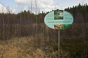 Natura 2000 - Image: NATURA 2000 Gebiet Haslauer Moor