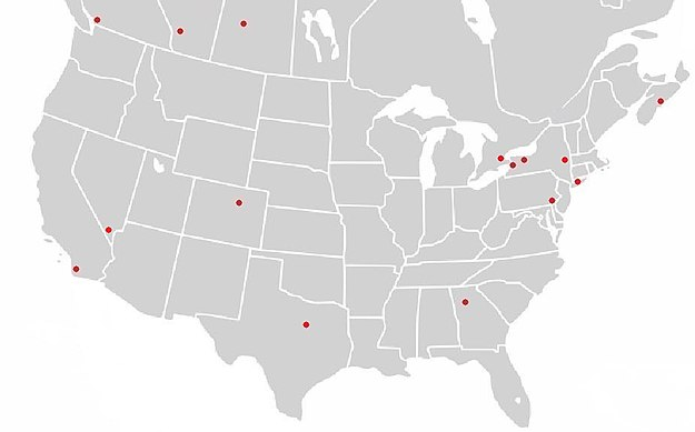 National Lacrosse League Wikipedia - Us government map nll