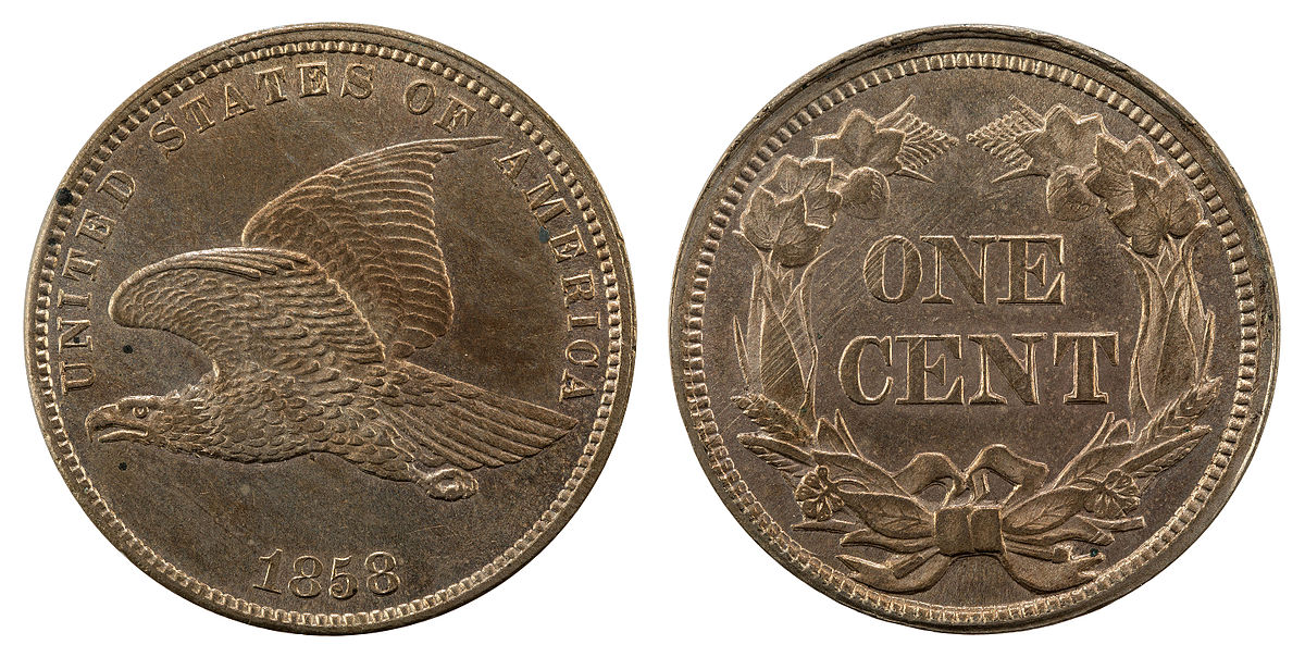 Flying Eagle Cent Wikipedia