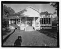 NORTH FRONT - Carter-Evans House, 603 South Harris Street, Sandersville, Washington County, GA HABS GA-2365-1.tif