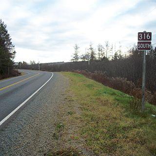 Nova Scotia Route 316