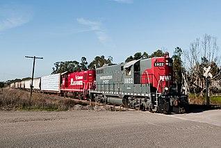 regional railroad in California