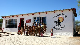 N/a'an ku sê Wildlife Sanctuary - Image: Naankuse Clever Cubs School