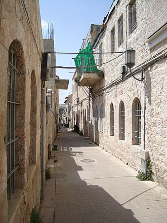 Nachlaot - Street in Nachlaot