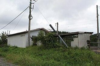 Naka-Oguni Station - Naka-Oguni Station in September 2008
