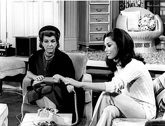 Nancy Walker - Walker's first appearance as Ida Morgenstern on The Mary Tyler Moore Show, 1970