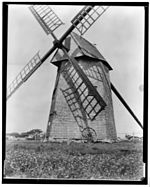 Nantucket Windmill - Frank C. Brown, Photographer, 1935.jpg