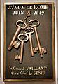 Napoléon III et l'Italie - Rome - clés de la porte de Saint-Pancrace - 001.jpg