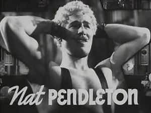 Nat Pendleton - Image: Nat Pendleton in The Great Ziegfeld trailer