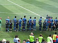 National anthem at Galaxy at Earthquakes 2010-08-21 3.JPG
